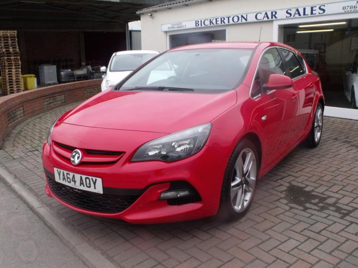YA64AOY - Vauxhall Astra 1.4 Turbo 140bhp Limited Edition 5 door hatchback 1364cc