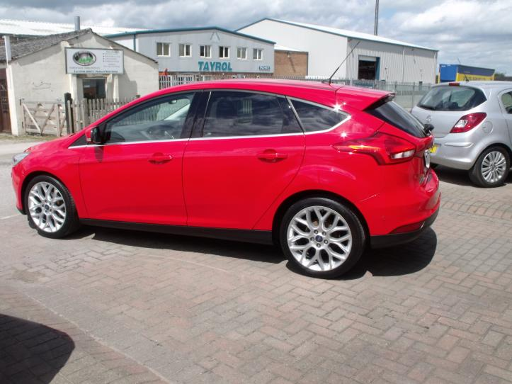 MJ65TXG - Ford Focus Titanium X 1.0 Turbo 125bhp EcoBoost 5 door hatchback 999cc