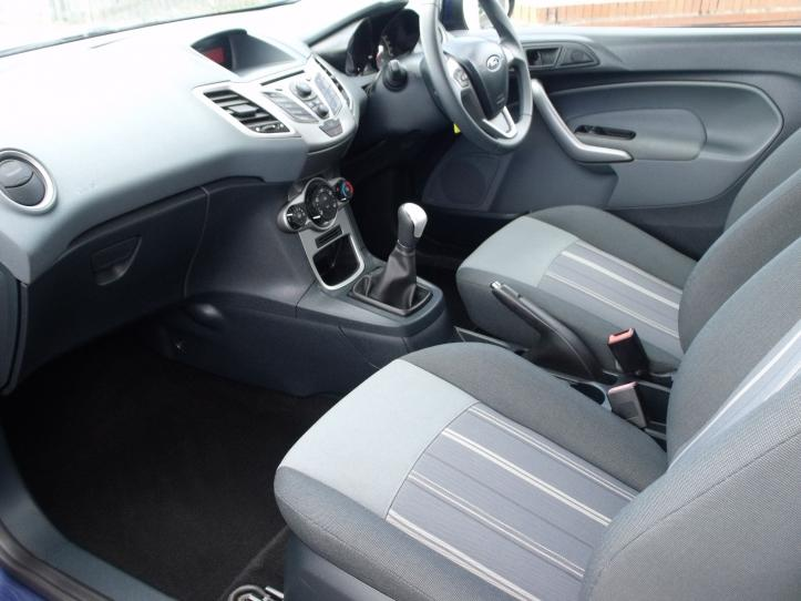 FY11DTU - Ford Fiesta 1.25 Edge 3 door hatchback 82bhp  1242cc