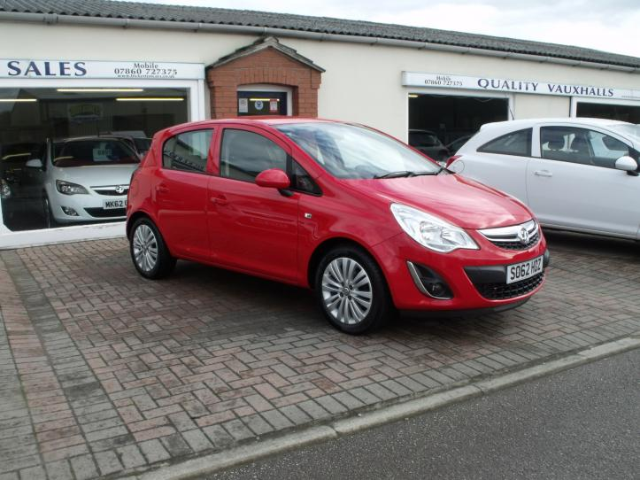 SO62HDZ - Vauxhall Corsa 1.2 Energy 5 door hatchback 1229cc