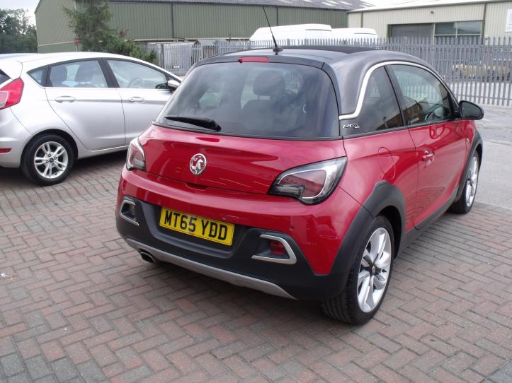 MT65YDD - Vauxhall Adam 1.4 Rocks Air Limited Edition Electric Sunroof      1398cc