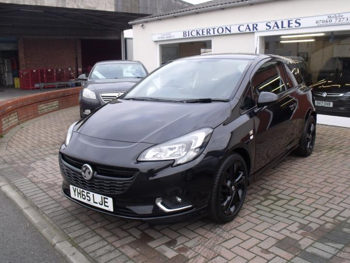 YH65 LJE - Vauxhall Corsa 1.2 Limited Edition 3 Door Hatchback 1229cc